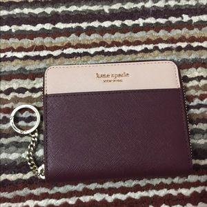 Kate Spade small slim continental wallet